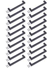 Zwarte Vierkante Moderne Keuken Kast Kast Lade Bar Deur Handvat Knop Mat Afwerking