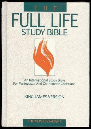 Holy Bible: Full Life Study - New Testament/King James Version