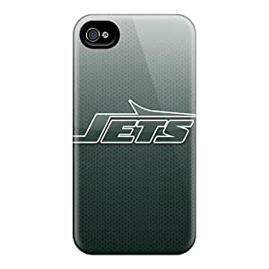 Awesome New York Jets Flip Cases With Fashion Design For Iphone 6