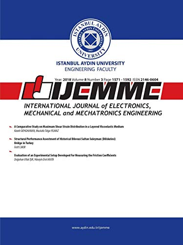 iJEMME: International Journal of Electronics, Mechanical and Mechatronics Engineering (2018 Vol 8 No) (International Journal Of Mechanical & Mechatronics Engineering)