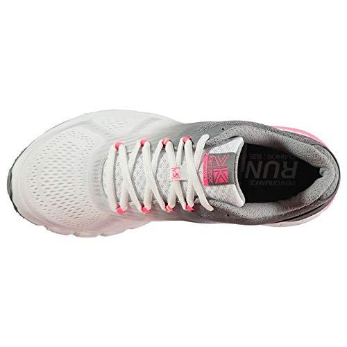 Laufenning Tempo Schuhe Weiß Grau Damen Karrimor 5 Road Damen nFx51Izq