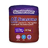 Slumberdown All Seasons 3-in-1 15 Tog Combi Duvet, White, King Size