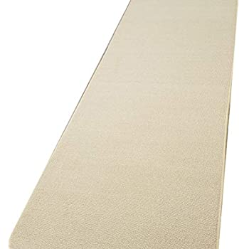 Amazon Com Runner Rug 2x5 Solid Ivory Kitchen Rugs And