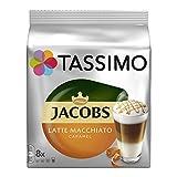 Tassimo Jacobs Typ Caramel Macchiato, 16 T-Discs (8 Servings)