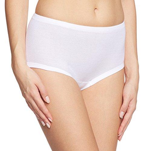 Calida Cotton Slip/Hosen Midi Brief (23362) (Medium (44), White)