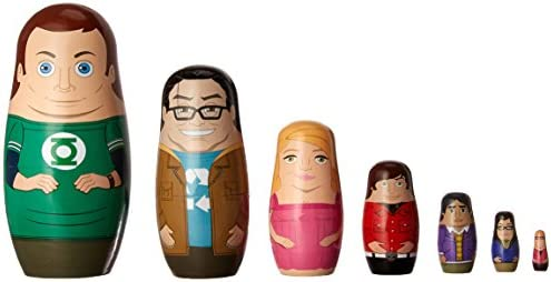 The Big Bang Theory Nesting Dolls Set of 7 Bif Bang Pow Value not found