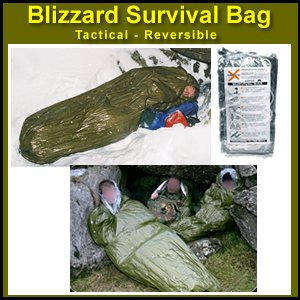 Blizzard Bag - Blizzard Survival Sleeping Bag (Bivvy) - Tactical / Reversible