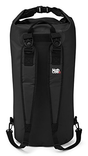 Northcore* 2018 40Ltr Dry Bag/Back Pack BLACK NOCO67B