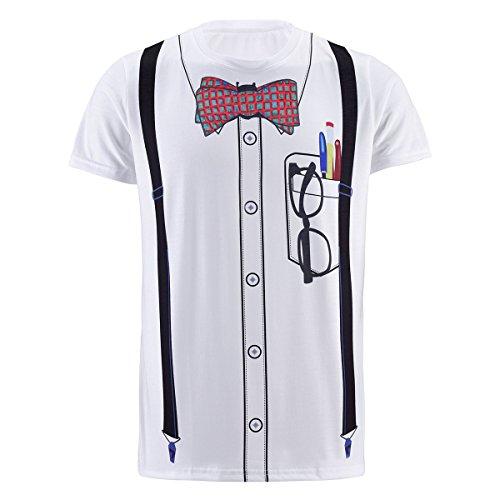 Funny World Tuxedo Costume T Shirts product image