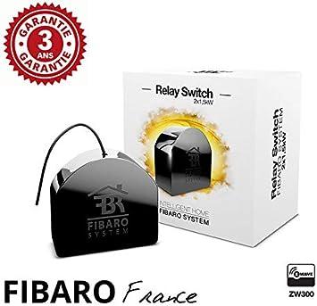 Fibaro Relay Switch 2 x 1,5kw – Micromódulo Interruptor Doble Z ...