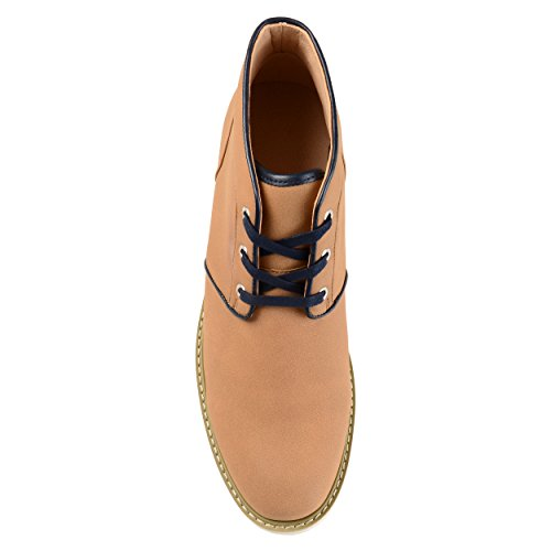 Territorium Menns Bryan Blonder-up Faux Suede Chukka Boots Taupe