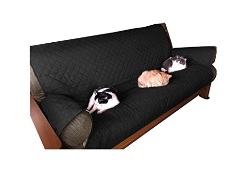 99 Sofa (Anti Slip Couch Cover for Dogs, Kids, Pets Waterproof Sofa Furniture Protector (3 seats, black))