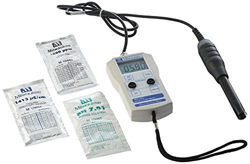 Milwaukee Instruments MW802 Smart Ph/EC/TDS Combined (Milwaukee Ph Meter)