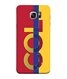 ColorKing Football Colombia 02 Multi Color shell case cover for Samsung S6 Edge