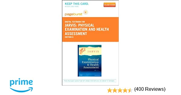 Physical examination and health assessment elsevier ebook on physical examination and health assessment elsevier ebook on vitalsource retail access card 6e 9781455736430 medicine health science books fandeluxe Images