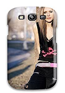 Anti-scratch And Shatterproof Celebrity Avril Lavigne Phone Case For Galaxy S3/ High Quality Tpu Case