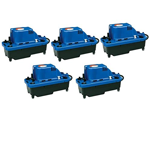 Little Giant VCMX-20ULS 1/30 HP Automatic Condensate Removal Pump   554530 (5 Pack)