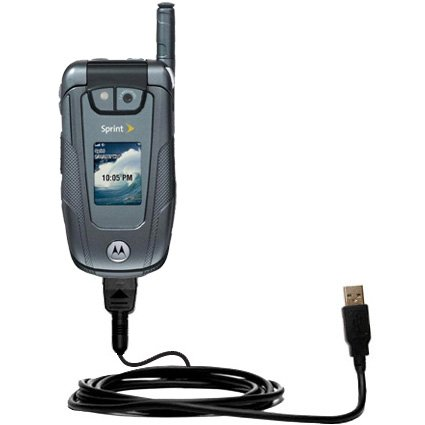 Hot Sync and Charge Straight USB cable for the Motorola ic902 - Charge and Data Sync with the same cable. Built with Gomadic TipExchange Technology
