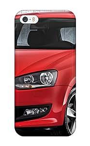 New Premium Flip Case Cover Volkswagen Polo 4 Skin Case For Iphone 5/5s