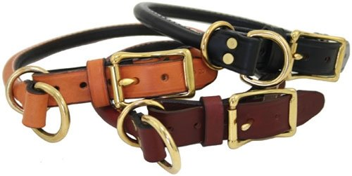 Rolled Leather Combination / Choke Collar
