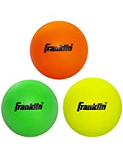 Franklin Sports Lacrosse Balls - Soft Rubber Lacrosse Balls for Kids - Perfect for Beginners & First Time Players - Softer & Smaller Construction than Regulation Balls - Bright Colors