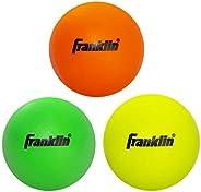 Franklin Sports Bolas de lacrosse juvenis – Bolas de lacrosse de borracha macia para crianças – Perfeitas para