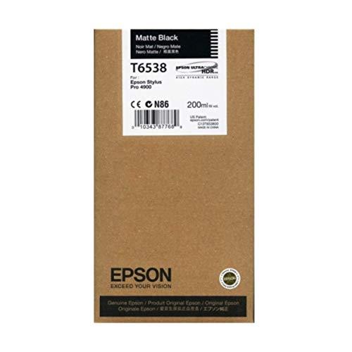 (Epson T653800 Stylus Pro 4900 Matte Black UltraChrome HDR Ink Cartridge (200)