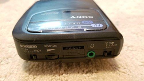 Sony Corp. Sony Anti-Rolling Mechanism Sony Walkman FM/AM AVLS WM-FX101 Radio Cassette Tape Player Model# WM-FX101 by Sony (Image #2)