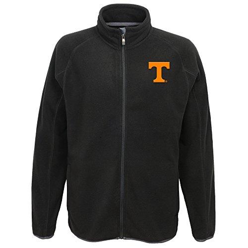 "NCAA Tennessee Volunteers Adult Men ""Scrimmage"" Full Zip Jacket, X-Large, Black"
