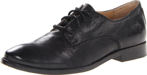 FRYE Women's Anna Oxford, Black, 9 M US
