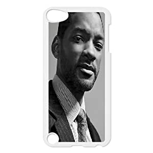 Bloomingbluerose Will Smith Ipod Touch 5 Cases Will Smith ,American Famous Star Protective For Girls, Case For Ipod Touch 5g Protective For Girls [White]