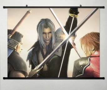 Wall Scroll Poster Fabric Painting For Anime Final Fantasy Sephiroth (Sephiroth Poster)