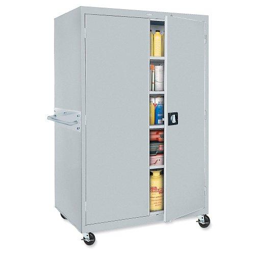 Sandusky Lee TA3R362460-05 Transport Mobile Storage 3 Shelves, 36