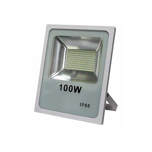 Proyector 100w 4000k Smd Quiron 7900lm 120º Blanco: Amazon.es ...