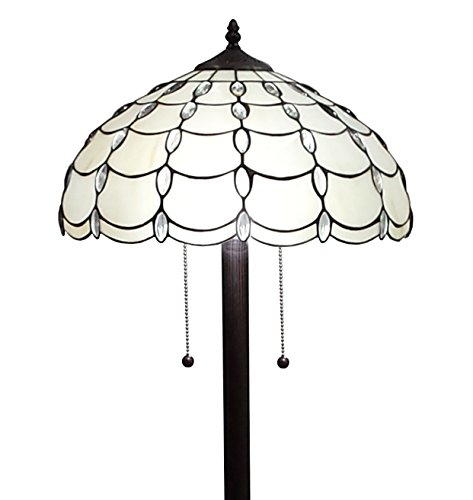Amora Lighting AM1044FL16 Tiffany Style Cascade Floor Lamp