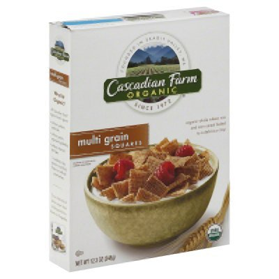 Cascadian Farm Cereal 95% Organic Multi-Grain Squares 12.3 Oz (Pack Of 10 ) by Cascadian Farm (Image #1)