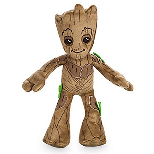 Official Disney Guardians Of The Galaxy Vol 2 22cm Groot Soft Plush Toy - Disney Guardians Of The Galaxy