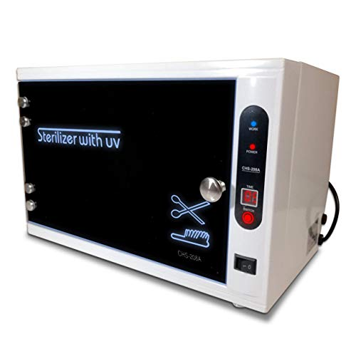 [PROFESSIONAL] Sterilizer for Salon, UV Sanitizer Box, Sterilizer Machine Ultraviolet Tool Sterilizer Cabinet Medical Sterilizer Stainless Tray