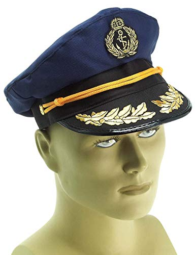 Skipper Hat Costumes - Forum Novelties Yacht Captains Hat for