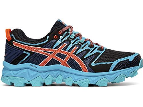 ASICS Women's Gel-Fujitrabuco 7 Running Shoes, 10M, Aquarium/Blue Expanse