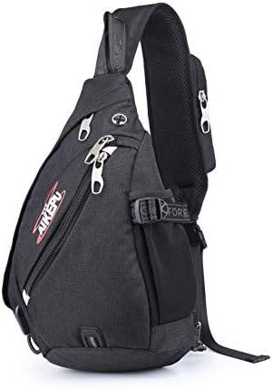 AIKEPU Sling Backpack Travel Hiking Chest Bag