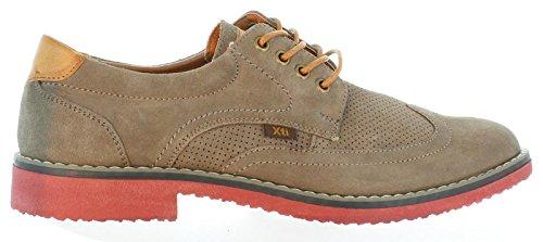 XTI Zapatos de Hombre 33358 Serraje Taupe