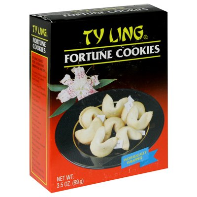 TY LING COOKIE FORTUNE 3.5OZ (Ty Ling Fortune Cookies)