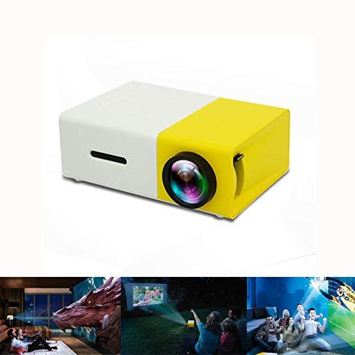 DIVAND Mini proyector, proyector portátil LED para proyector de ...