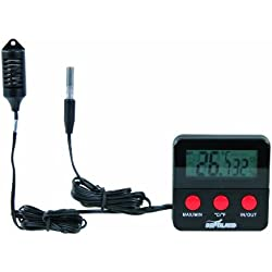 Digital Thermo/hygrometer With Remote Sensor - For Precise Monitoring Of The