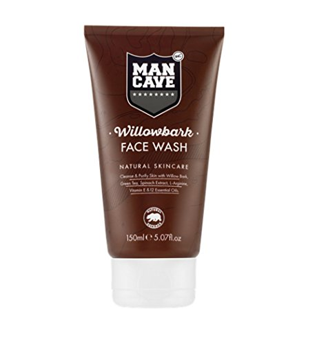 ManCave Willowbark Face Wash 5 07