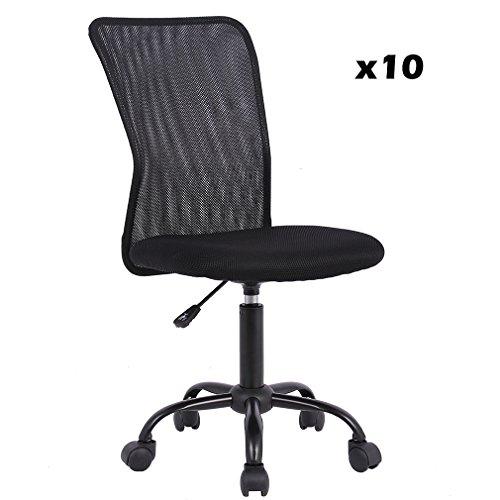 Mesh Office Chair (Black, 10)