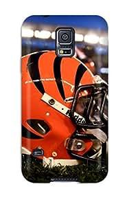 Hot 6088017K816161375 cincinnatiengals NFL Sports & Colleges newest Samsung Galaxy S5 cases