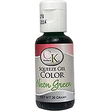 Amazon.com : Neon Green Food Coloring - CK Products - 20 grams ...