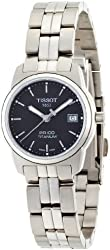 Tissot Women's T049.310.44.051.00 Black Dial PR100 Watch